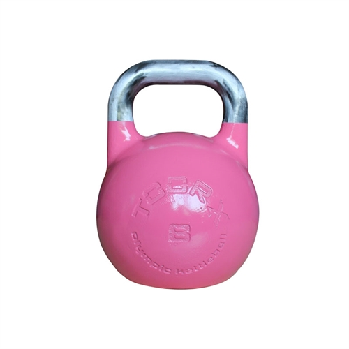 TOORX Olympisk Kettlebell 8 kg i pink